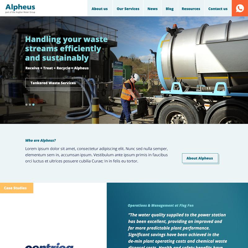 Alpheus-Homepage