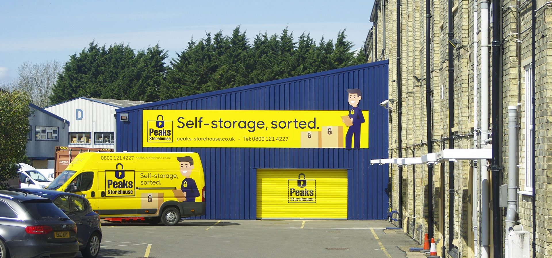 Peaks Storehouse Van Livery and Signage