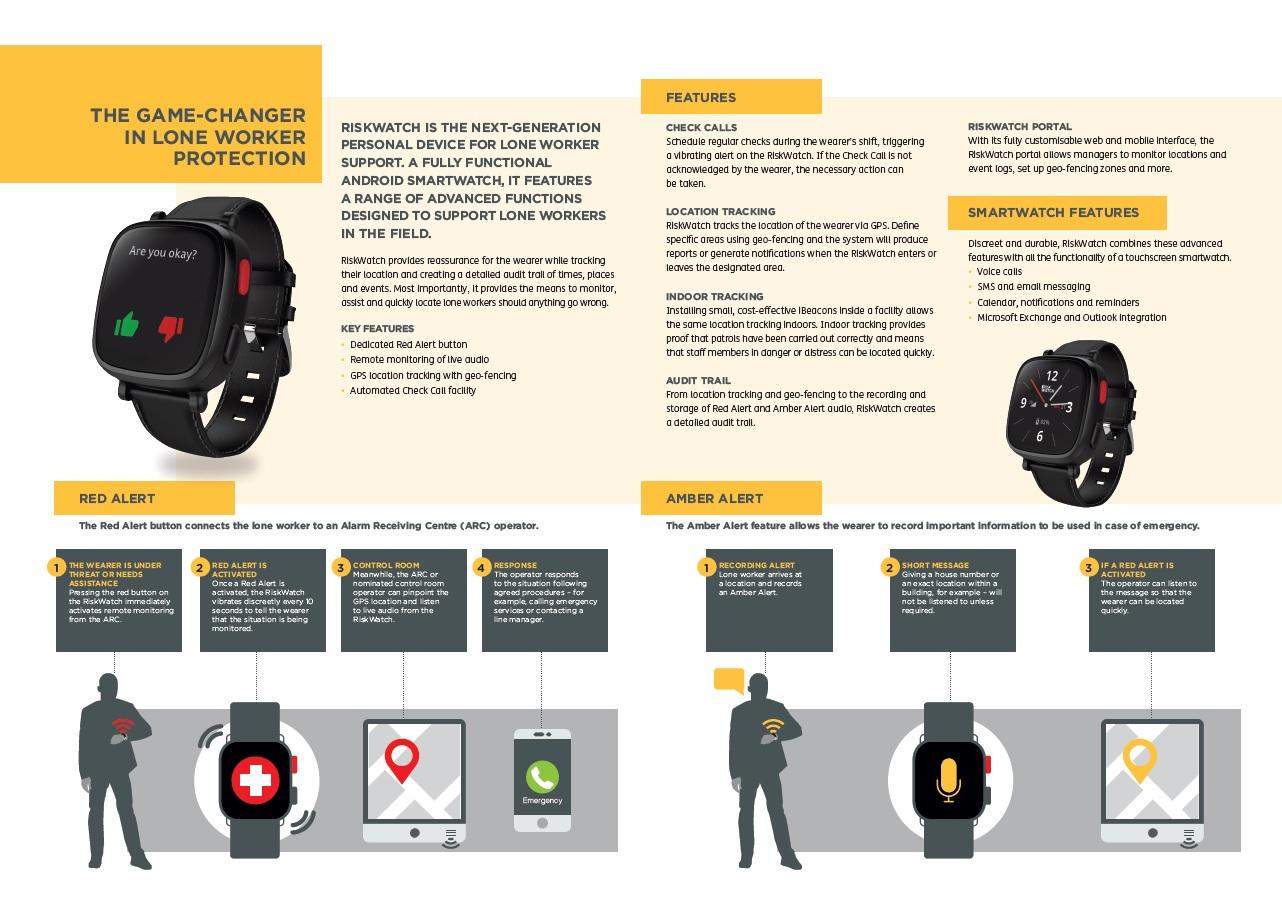 Amberstone RiskWatch brochure spread