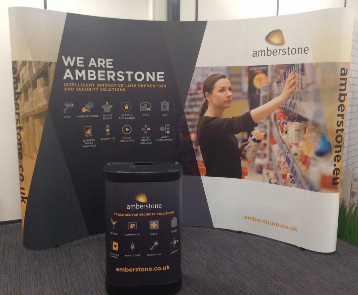 Amberstone Exhibition stand - Network Design