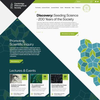 Cambridge Philosophical Society Homepage
