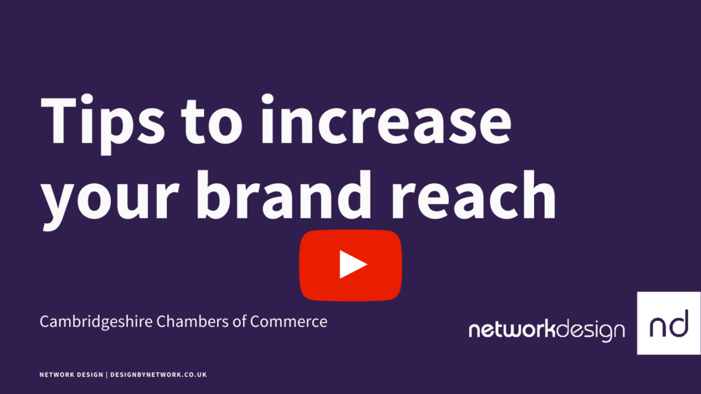 Tips to increase your brand reach   Network Design