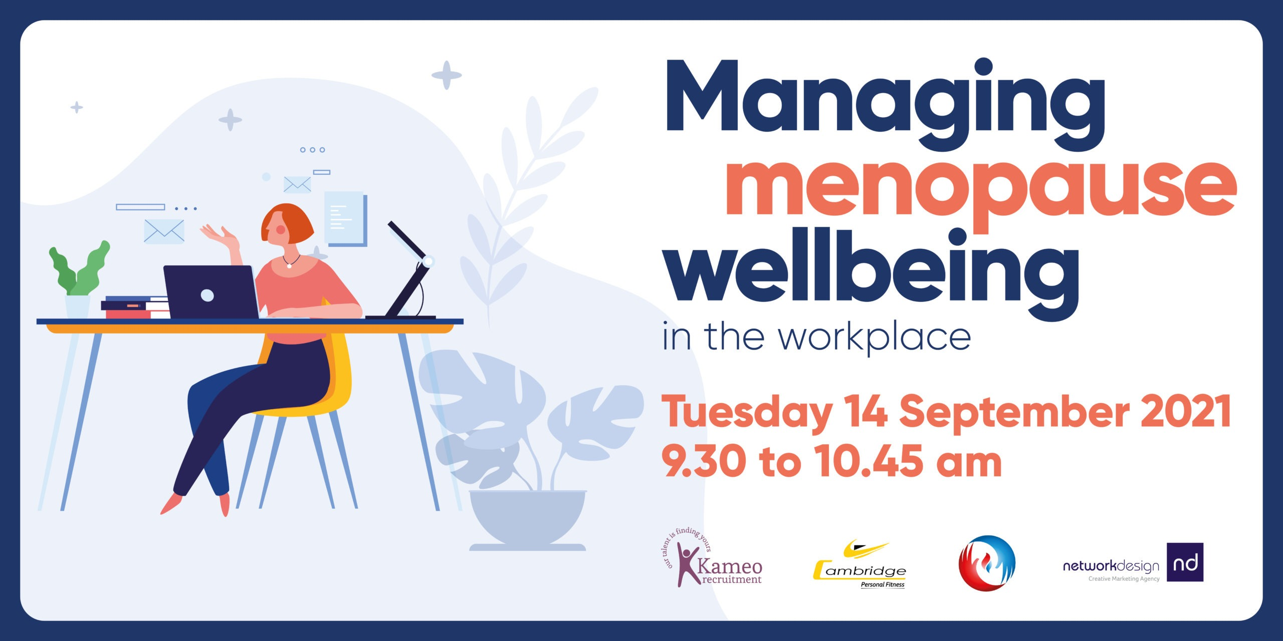 Managing menopause wellbeing in the workplace Sept 21